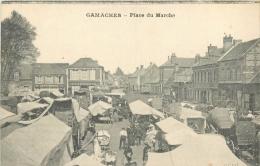 80 GAMACHES PLACE DU MARCHE - Autres Communes