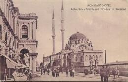 KONSTANTINOPEL KAISERLICHES SCHLOB UND MOSCHEE IN TOPHANE - Turkey
