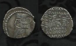 PARTHES  . VOLOGASE II  . ( 107 à 147 ) . DRACHME . - Greche