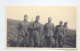 WWII Deutsche Wehrmacht, Soldaten Drittes Reich, ORIGINAL PHOTO  2 SCANS - War, Military