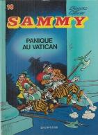 """SAMMY  """" PANIQUE AU VATICAN """"   -  BERCK / CAUVIN - E.O.  1984  DUPUIS - Sammy"""