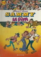 "SAMMY  "" LA DIVA ""   -  BERCK / CAUVIN - E.O.  OCTOBRE 1987  DUPUIS - Sammy"