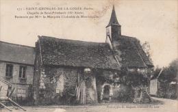 SAINT GEORGES DE LA COUEE. Chapelle De Saint Frimbault - Frankrijk