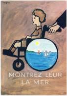 Secours Populaire Français : Montrez Leur La Mer, Signée Savignac (SA) - Savignac