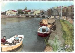 SAUJON Le Port De Ribérou (Gaby) Chte Mme (17) - Saujon