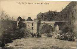 Vallée De L'ariège Le Pont Du Diable    Recto Verso Beau Timbre 40C 1934 - Sin Clasificación