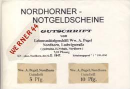 """Städte Notgeldscheine -  V. 1947 Nordhorn 5,10 Pfg.  """"NOTGELD"""" (085) - [ 5] 1945-1949 : Allies Occupation"""