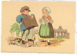 13121 1209 G BARRE DAYEZ BD PETITS METIERS -joueur D´orgue Orgeldraaier ILLUSTREE  E MAUDY