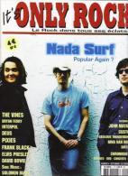 """Nada Surf  """"  It's Only Rock  """" - Gente"""