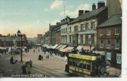 CUMBRIA - CARLISLE - ENGLISH STREET - TRAM 1907 Cu205 - Cumberland/ Westmorland