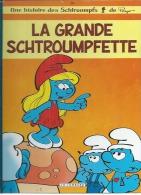 """LES SCHTROUMPFS """" LA GRANDE SCHTROUMPFETTE """" - PEYO - E.O.  AVRIL 2010  LOMBARD - Schtroumpfs, Les"""