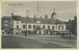 CUMBRIA - CARLISLE - TOWN HALL 1940 Cu492 - Cumberland/ Westmorland