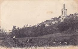 CPA - 78 - MOUSSEAUX - Dans La Plaine - 101 - RARE !!!!! - Maurecourt