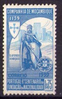 STAMPS PORTUGAL MOZAMBIQUE COMPANY SELECTION - 1940 - Fundação Da Nacionalidade - MLH - Mozambique