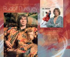 st13120b S.Tome Principe 2013 Rudolf Nureyev s/s