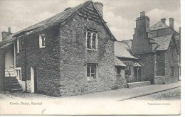 CUMBRIA - KENDAL - CASTLE DAIRY 1913 Cu373 - Cumberland/ Westmorland