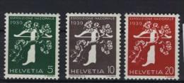 Schweiz Michel No. 352 - 354 y ** postfrisch