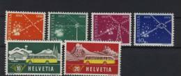 Lot Schweiz Michel No. 566 - 569 , 586 - 587 ** postfrisch