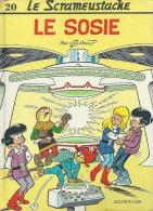 "LE SCRAMEUSTACHE  "" LE SOSIE ""   -  GOS / WALT - E.O.  JUILLET 1990  DUPUIS - Scrameustache, Le"