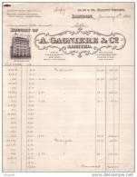 ROYAUME UNI - LONDON - LONDRES - PARIS - BRUXELLES - BUENOS AIRES - A. GAGNIERE & CO LIMITED - 1914 - Royaume-Uni