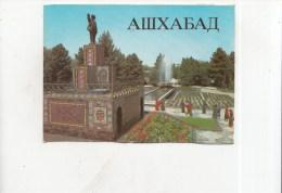 ZS34729  Ashkhabad    2 Scans - Turkménistan
