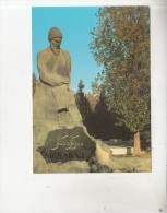 ZS34730 Statue Of Makhtumkuli   Ashkhabad    2 Scans - Turkménistan
