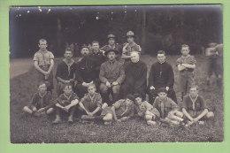 Jacques SEVIN, Abbé CORNETTE, Chamarande Années 20. Scouts De France. 2 Scans. CARTE PHOTO - Scoutisme