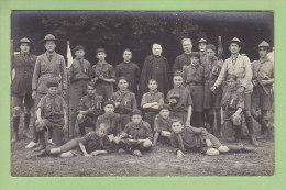 Abbé CORNETTE, Chamarande Années 20. Scouts De France. 2 Scans. CARTE PHOTO - Scoutisme