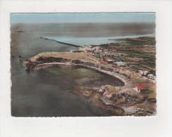 34 Cap D' Agde La Conque Vue Aérienne Maisons Terrains Carte Dentelée écrite En 1957 - Agde