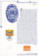 "DPO 2000 Doc. Officiel 21 00 534 "" PARLEMENT DE BRETAGNE "" N° YT 3307. - Documentos Del Correo"