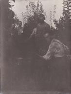 Photo Originale 14-18 LEMONCOURT (près Delme) - Soldats Allemands Prèparant Un Repas (ww1, Wk1) - Unclassified