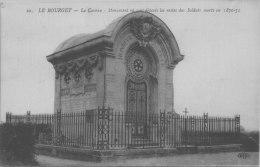 LE  BOURGET / MONUMENT  SOLDAT 1870/1871  / LOT  612 - Le Bourget