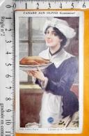 Chromo Fin 19 / Végétaline / Recette De Cuisine Maitre De Bouche / Camis / Lyonnaise Lyon / Canard Aux Olives - Autres