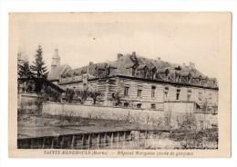 SAINTE - MENEHOULD  Marne 51  Hôpital Margaine ( Ecole De Garçons )  BON ETAT  CPSM - Sainte-Menehould