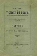CAISSE DES VICTIMES DU DEVOIR  PARIS 1895, BELLE ILLUSTRATION EN 1ERE PAGE DE EDOUARD DETAILLE - Documents Historiques