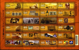 Brasil 2013 ** 350 Años De Historia Del Correo 1663-2013. Ver Descripción Completa. See Full Description. - Brazil