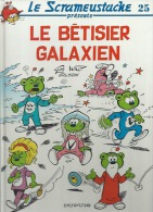 """LE SCRAMEUSTACHE  """" LE BETISIER GALAXIEN """"   -  GOS / WALT / GILSON - E.O.  AVRIL 1994  DUPUIS - Scrameustache, Le"""