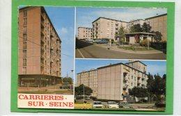 78  .CARRIERES  Sur  SEINE  , Cité  Du  Petit Bois , Multivues  Cpsm  10,5 X 15 - Carrières-sur-Seine