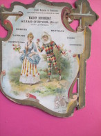 Carton  D´Ephéméride/Grd Magasins Nouveautés/Rouxbédat/Alia S-Dupuis Succr/VITRY Le FRANCOIS/ Vers 1890-1900   CAL127 - Calendars