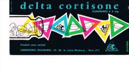 Buvard Publicitaire Delta Cortisone - Chemist's