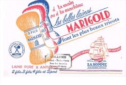 Buvard Publicitaire Laines Marigold - Textile & Vestimentaire