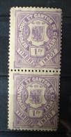 Republique Et Canton De Geneve,Timbre Impot,pair/paartje - Fiscaux