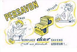 Buvard Publicitaire Persavon - Produits Ménagers