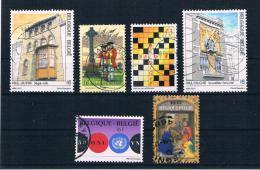 Belgien 1995 Kleines Lot  Von 6 Werten Gestempelt - Sammlungen