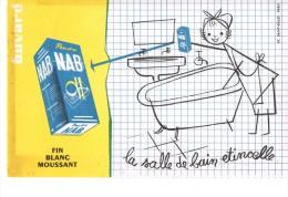 Buvard Publicitaire Poudre  Nab - Produits Ménagers