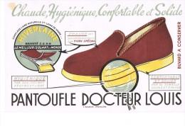 Buvard Publicitaire Pantoufle Docteur Louis - Chaussures