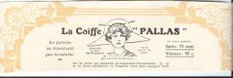 La Coiffe Pallas/Accessoire De Chapeau  /Publicité/ 1913              ILL11 - Habits & Linge D'époque
