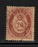 NORVEGE N° 42 Obl. - Norvège