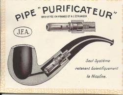 "Pipe ""Purificateur""/Brevet�e en France et � l'�tranger /J.F.A./ 1913              ILL8"