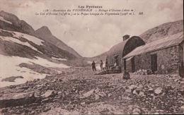 20   VIGNEMALE 1935 TIMBRE  VERSO - Francia